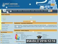 Miniaturka domeny www.linkcentrum.pl