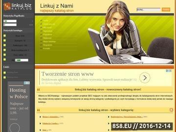 Zrzut strony Linkuj.biz - katalog stron