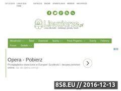 Miniaturka domeny linuxiarze.pl