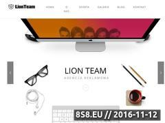 Miniaturka domeny lionteam.pl
