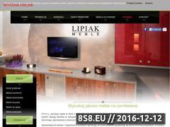 Miniaturka domeny www.lipiakmeble.com.pl