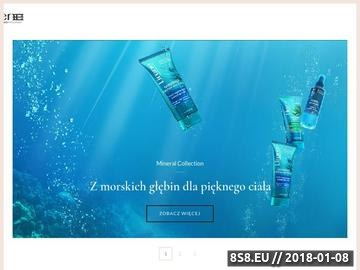 Zrzut strony Polskie kosmetyki