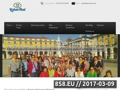 Thumbnail of Welcome for Lisbon Walking Tours Website