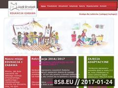 Miniaturka domeny www.lisek-urwisek.pl