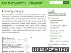 Miniaturka domeny list-motywacyjny.com.pl