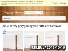Miniaturka domeny listwy-przypodlogowe.com