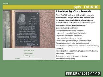 Zrzut strony Liternictwo i grafika w kamieniu.