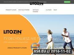 Miniaturka domeny www.litozin.com.pl