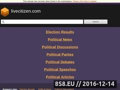 Thumbnail of Online poll, live debate and discussions Website
