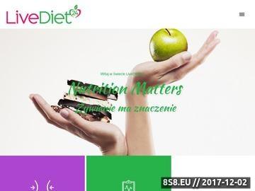 Zrzut strony Konsultacje dietetyczne w Warszawie