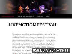 Miniaturka domeny livemotion.pl