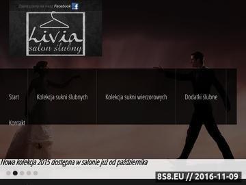 Zrzut strony LIVIA Kreacje wieczorowe