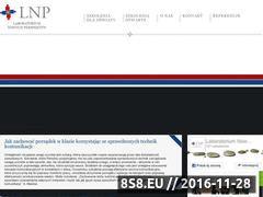 Miniaturka domeny www.lnp.com.pl
