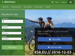Thumbnail of Local Bicycle Trader Website