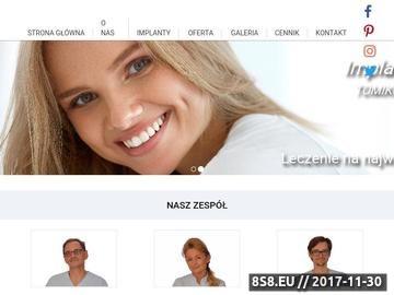 Zrzut strony Dobry dentysta z Łodzi