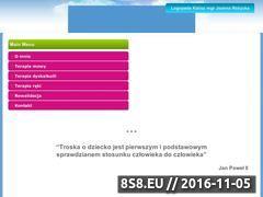 Miniaturka domeny logopeda.kalisz.pl