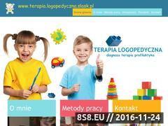 Miniaturka domeny logopedyczna.slask.pl