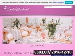 Miniaturka domeny www.lokale-weselne.pl