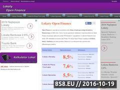 Miniaturka domeny www.lokaty-open.pl