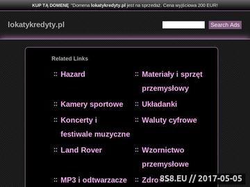 Zrzut strony Lokaty terminowe