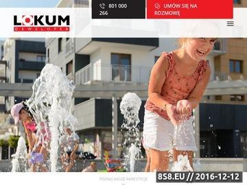 Zrzut strony Lokum Deweloper Wrocław