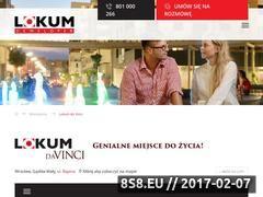 Miniaturka domeny lokumdavinci.pl