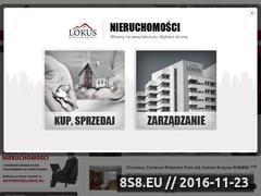 Miniaturka domeny www.lokus.eu