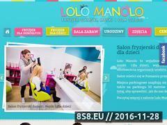 Miniaturka domeny www.lolomanolo.pl