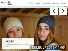 Miniaturka domeny www.loman.pl