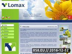 Miniaturka domeny www.lomax.com.pl