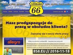 Miniaturka domeny lombard66.pl