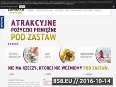 Miniaturka domeny lombardnamokotowie.pl