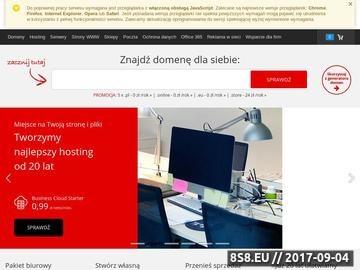 Zrzut strony Lombard warszawski .pl