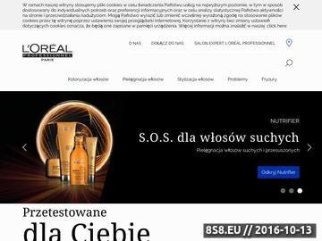 Zrzut strony Koloryzacja włosów loreal professionnel