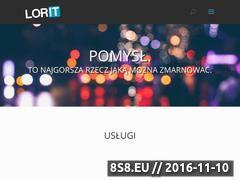 Miniaturka domeny lorit.pl