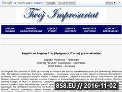 Miniaturka domeny losangelestrio.twoj-impresariat.pl