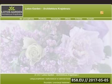 Zrzut strony Projektowanie i realizacja zieleni