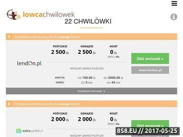 Zrzut strony ranking chwilówek online - szybkie pożyczki