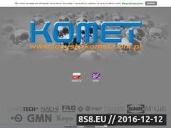 Miniaturka domeny www.lozyskakomet.com.pl