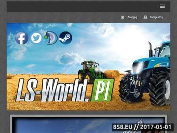 Zrzut strony Ls-world mody do gier z seri landwirtschafts-simulator