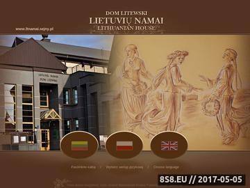 Zrzut strony Dom Litewski - nocleg Suwałki