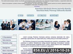 Miniaturka domeny www.lubelskiekancelarie.pl