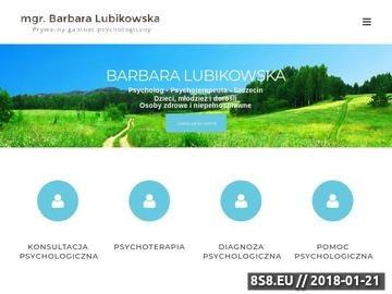 Zrzut strony Psycholog w Szczecinie - Barbara Lubikowska