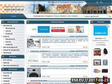 Zrzut strony Ogłoszenia Lubin, nieruchomości, motoryzacja, kupno, sprzedaż, praca, anonse