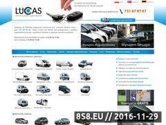 Miniaturka domeny lucasrental.com