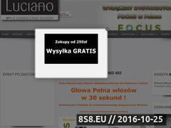 Miniaturka domeny luciano.com.pl