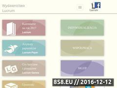 Miniaturka domeny www.lucrum.pl