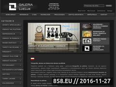 Miniaturka domeny www.luelue.pl