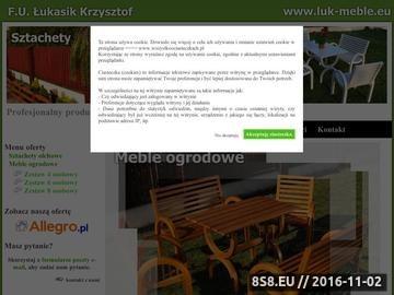 Zrzut strony LUK_MEBLE meble ogrodowe