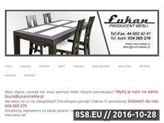 Miniaturka domeny lukanmeble.pl